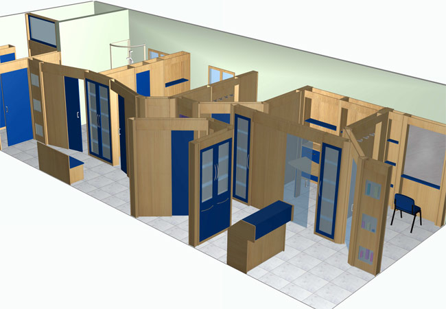 Famac arredamenti centri estetici for Arredamento centri estetici